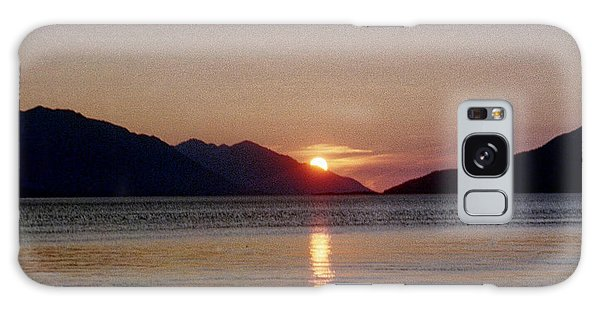 Sunset Over Cook Inlet Alaska Galaxy Case