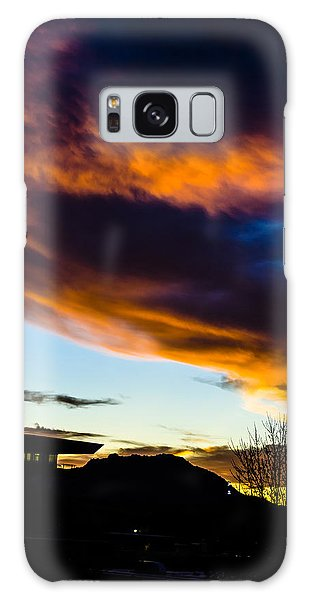 Sunset Over Granite Mountain And Ac1 Galaxy Case by Alan Marlowe