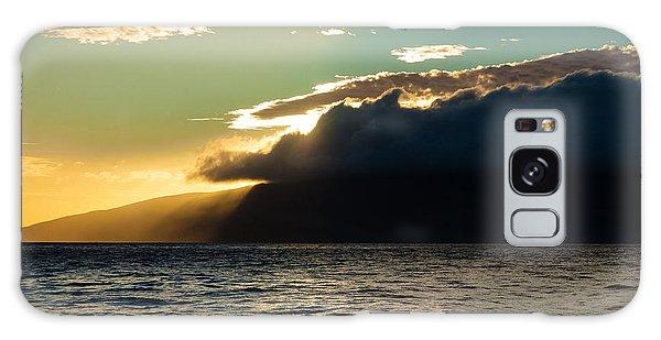 Sunset Over Lanai   Galaxy Case