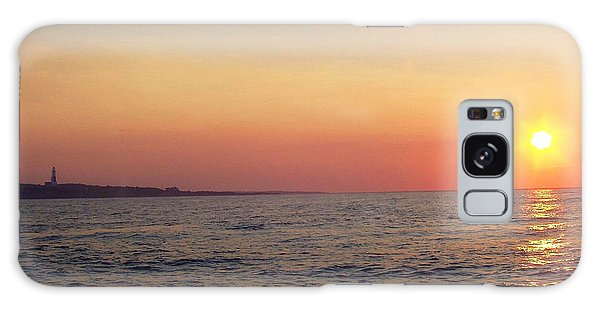 Sunset Over Montauk Galaxy Case