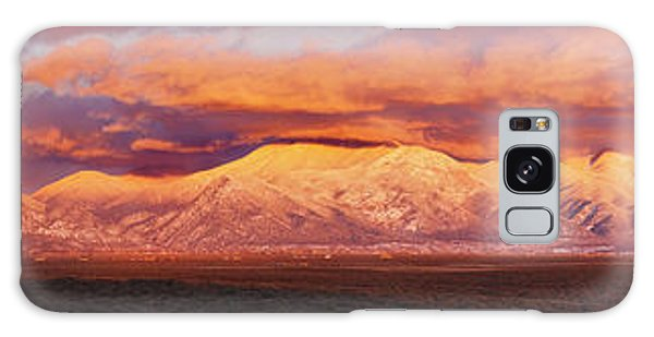 Sangre De Cristo Galaxy S8 Case - Sunset Over Mountain Range, Sangre De by Panoramic Images