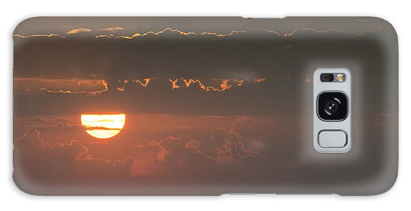 Sunset Over Rochester Galaxy Case
