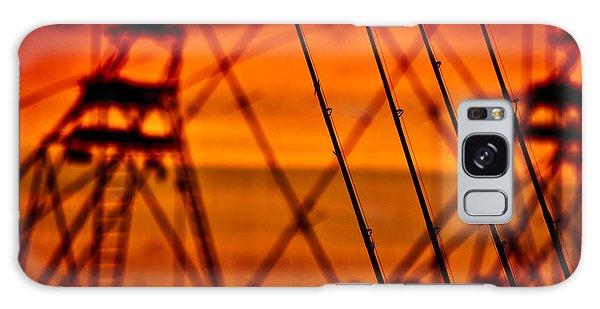 Sunset Over Sailfish Galaxy Case