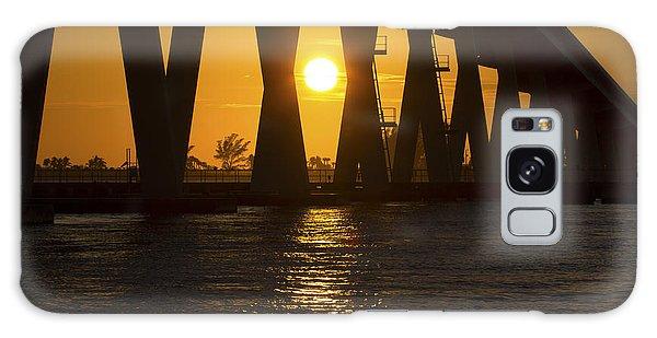 Sunset Over Sanibel Island Photo Galaxy Case
