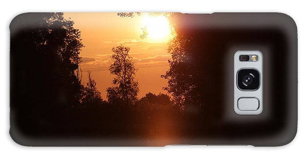 Sunset Over The Canals Galaxy Case by Rogerio Mariani