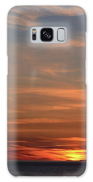 Cabot Trail Galaxy Case - Sunset Over The Ocean Near Petit Etang by Darlyne A. Murawski