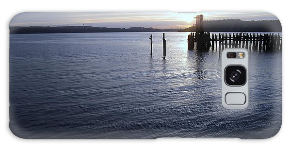 Sunset Over Titlow Galaxy Case