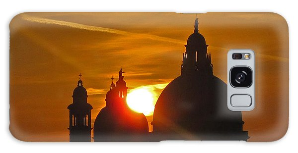 Sunset Over Venice Galaxy Case