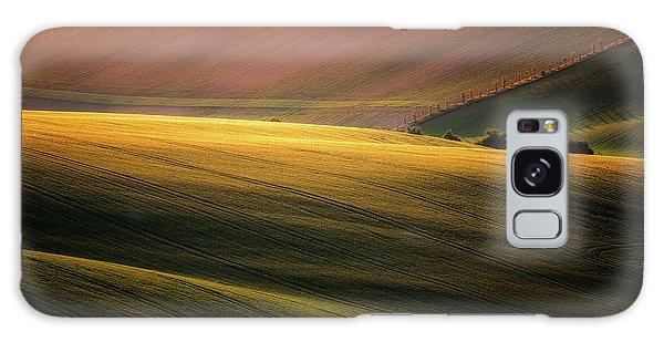 Layers Galaxy Case - Sunset Palette by Marek Boguszak