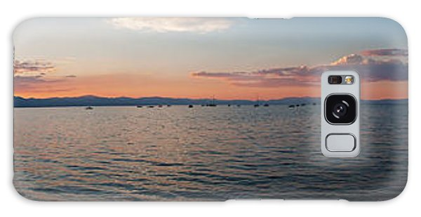 Sunset Panorama At Lake Tahoe California Galaxy Case