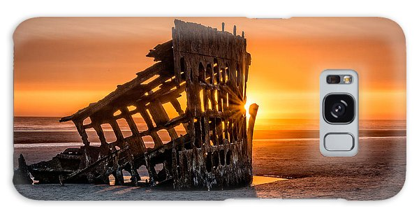 Sunset Peter Iredale Galaxy Case by James Hammond