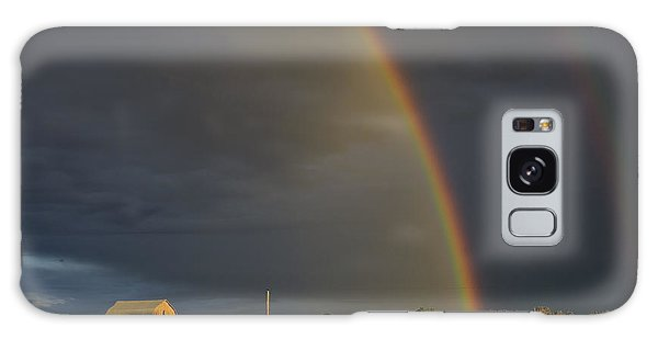 Sunset Rainbow Right Galaxy Case