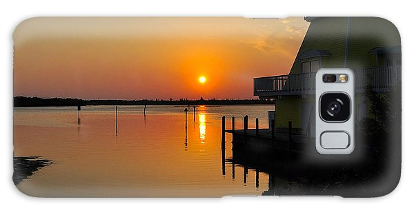 Sunset Reflections Galaxy Case by Jim Brage