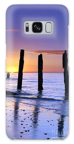 Sunset Romance Galaxy Case by Bill  Robinson