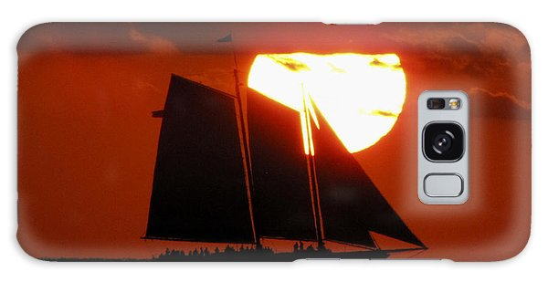 Key West Sunset Sail 5 Galaxy Case