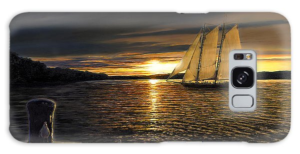 Sunset Sails Galaxy Case