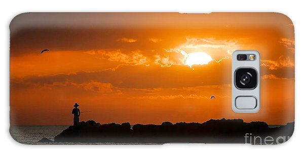 Sunset Serenity Galaxy Case