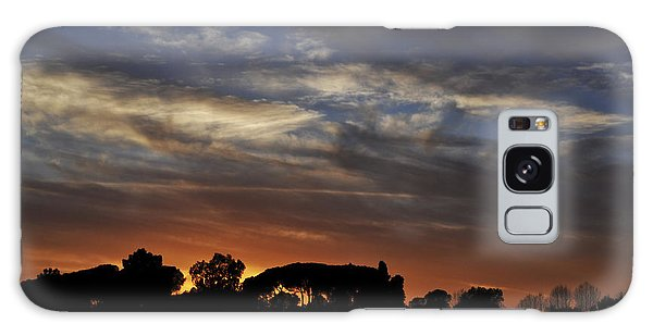 Sunset Galaxy Case by Simona Ghidini