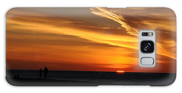 Sunset Sliver Galaxy Case