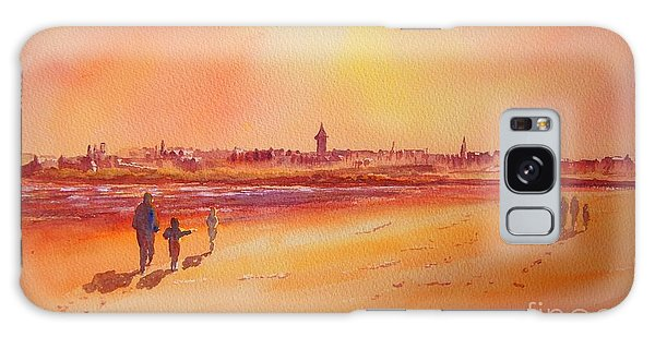 Sunset St Andrews Scotland Galaxy Case