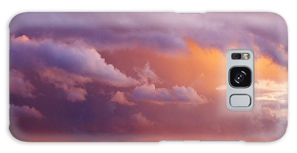 Sunset Storm Galaxy Case by Al Fritz