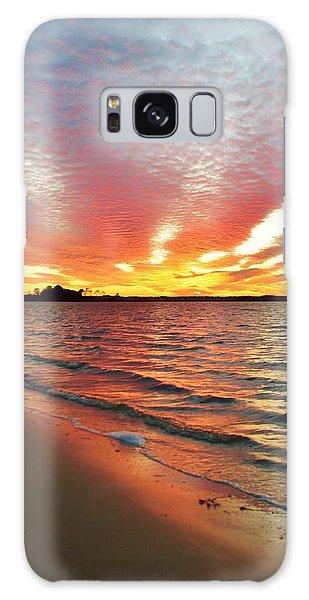 Sunset Streaks Galaxy Case