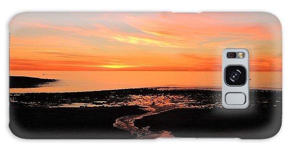 Field River, Hallett Cove Galaxy Case by Linda Hollis