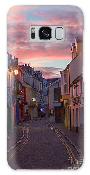 Sunset Street Galaxy Case