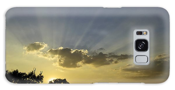 Sunset Sunrays Galaxy Case