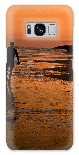 Sunset Surfer Hilton Head Sc Galaxy Case