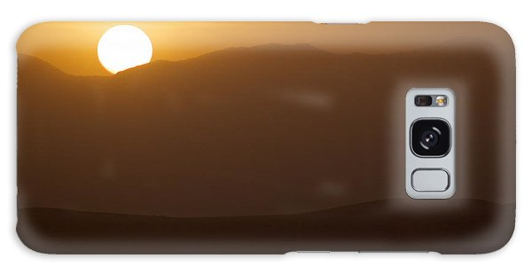 Sunset The Ruby Mountains Wells Nevada Galaxy Case