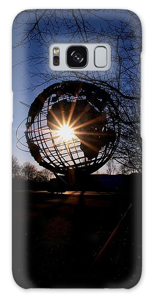 Sunset Through The Unisphere Galaxy Case