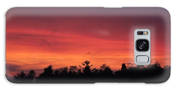 Sunset Tones Galaxy Case
