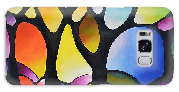 Sunset Trees Galaxy Case