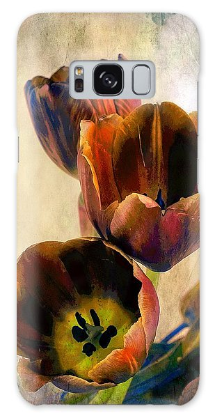 Sunset Tulips Galaxy Case