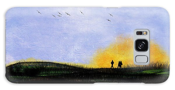 Sunset Walk Galaxy Case