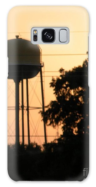 Sunset Water Tower Galaxy Case