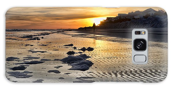 Sunset Wild Dunes Beach South Carolina Galaxy Case