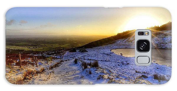 Sunshine And Snow Galaxy Case