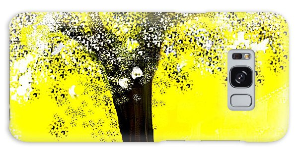 Sunshine Blossom Tree Galaxy Case