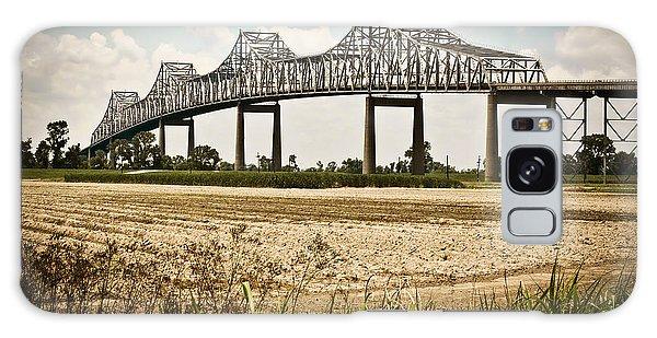 Sunshine Bridge Mississippi Bridge Galaxy Case by Ray Devlin