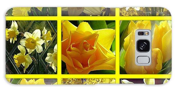 Sunshine Gold Picture Window Galaxy Case