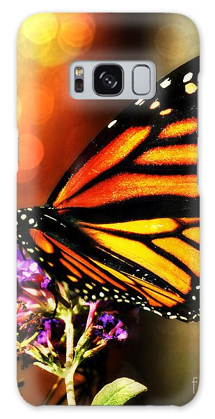 Sunshine Monarch  Galaxy Case by Mindy Bench