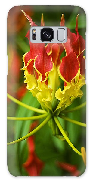Sunshine On A Cloudy Day Galaxy Case by Beverly Stapleton