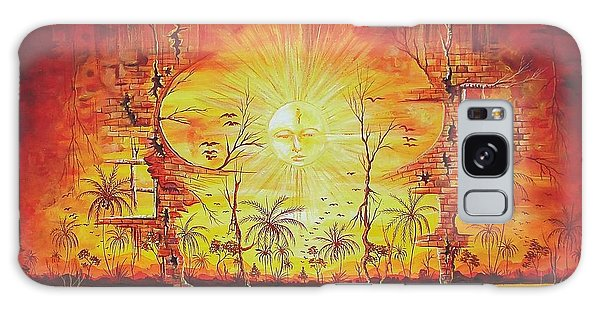 Sunshine On My Mind Galaxy Case