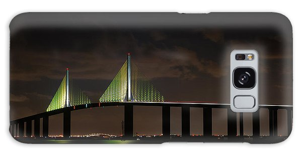 Sunshine Skyway Bridge Galaxy Case