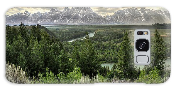 Teton Galaxy Case - Sunstorm  by Ryan Smith