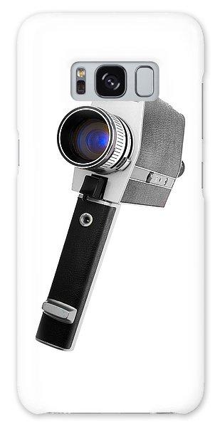 Super 8 Camera Galaxy Case