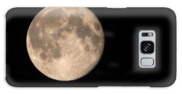 Super Moon Galaxy Case by David Millenheft