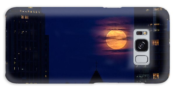 Super Moon Rises Galaxy Case